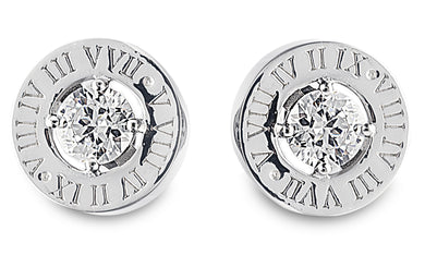 bvlgari, bulgari, roman numerals, charms, bling, diamond, earring, studs, jewellery, engagement, eden stone stud earring,
