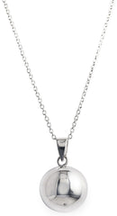 Look at my villa necklace, tiffany, silver, necklace, chain, bling, diamond, silver ball,