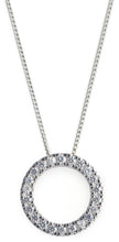 Load image into Gallery viewer, o bliss necklace, bling, diamonds, tiffany, pendant,