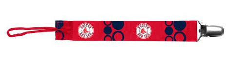 Baby Fanatic Pacifier Clip, Boston Red Sox (Discontinued by Manufacturer)