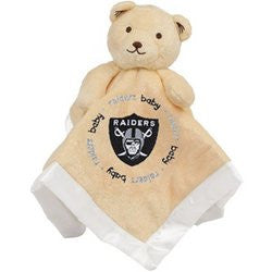 Oakland Raiders NFL Infant Security Blanket (14 in x 14 in)