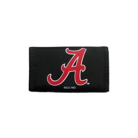 ALABAMA CRIMSON TIDE Team Logo Tri-Fold NYLON WALLET