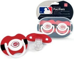 Cincinnati Reds Pacifier - 2 Pack, Catalog Category: NLB