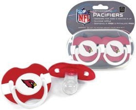 Arizona Cardinals Pacifiers - 2 Pack, Catalog Category: NFL