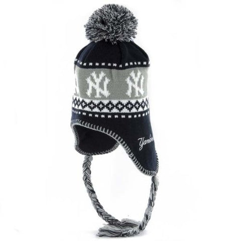 MLB New York Yankees Abomination Knit, Navy, One Size