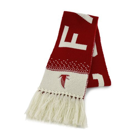 "Atlanta Falcons Legacy Red ""Magic Mountain"" Scarf - NFL Women's/Ladies Scarf"