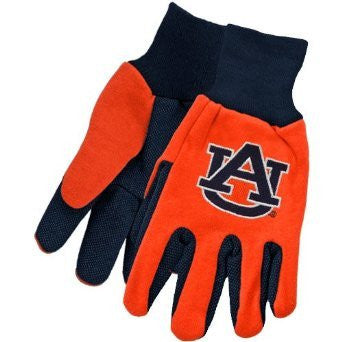 Auburn Two-Tone Gloves