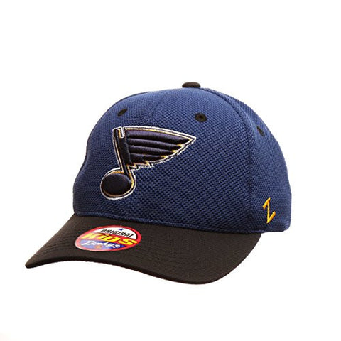 "St. Louis Blue YOUTH ""Tyke"" Adjustable Snapback Cap - NHL Zephyr Kid's Baseball Hat"