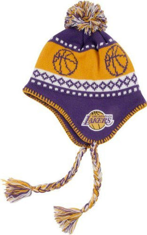 Los Angeles Lakers '47 Brand Abomination Knit Hat