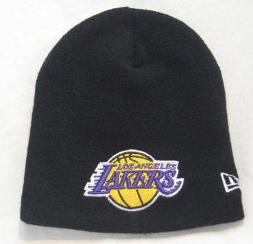 Los Angeles Lakers - Black New Era NBA Beanie