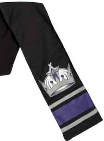 "LOS ANGELES KINGS NHL Jersey Scarf With Inside/Hidden Pocket SIZE: 60"" By 7"""