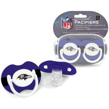 Baltimore Ravens 2-Pack Team Logo Pacifiers