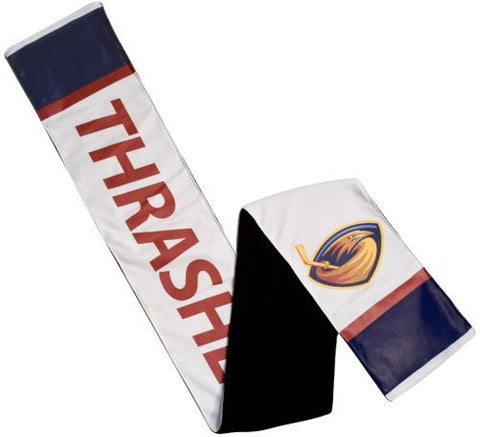 "Atlanta Thrashers Vintage NHL Jersey Scarf With Inner Zipper Pocket (8"" x 60"")"