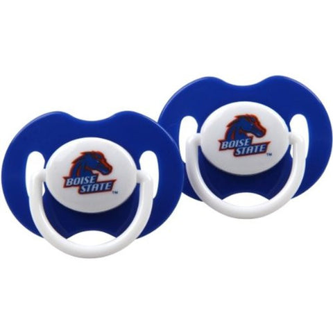 Boise State Broncos Blue Infant Pacifier Set (2) - 2014 NCAA Baby Pacifiers