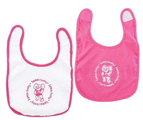 Baby Fanatic Bibs Pink, University of Alabama
