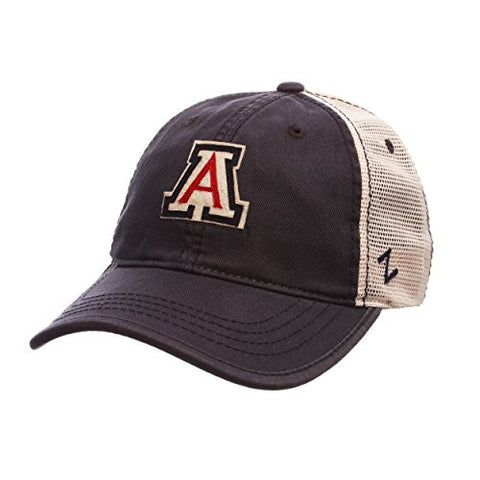 "Arizona Wildcats ""Summertime"" Adjustable Snapback Cap - NCAA Trucker Mesh, One Size Baseball Hat"