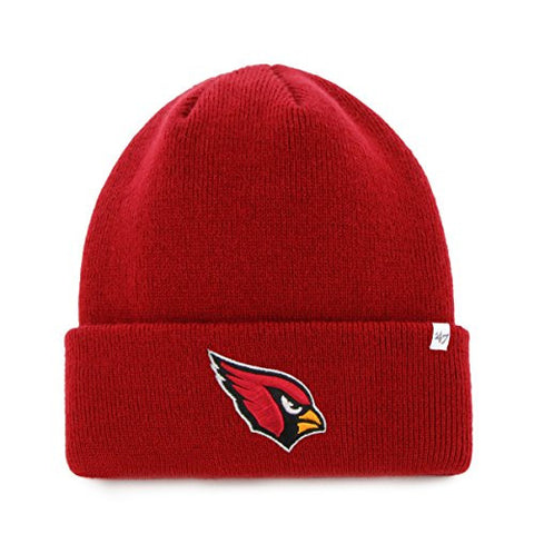 Arizona Cardinals Red Cardinal Cuffed Beanie - NFL Knit Toque Hat