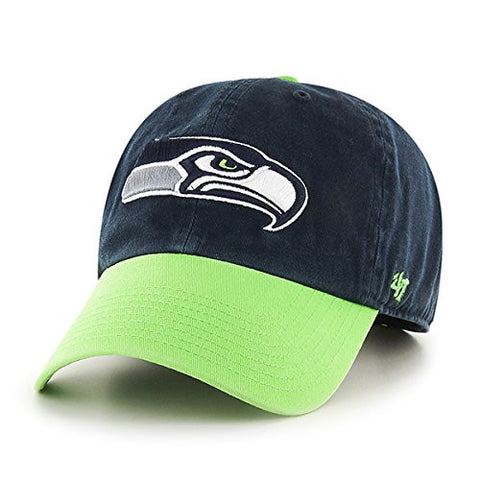 0104ed9be5f  47 Brand Seattle Seahawks 2-Tone Clean Up Hat - NFL Adjustable