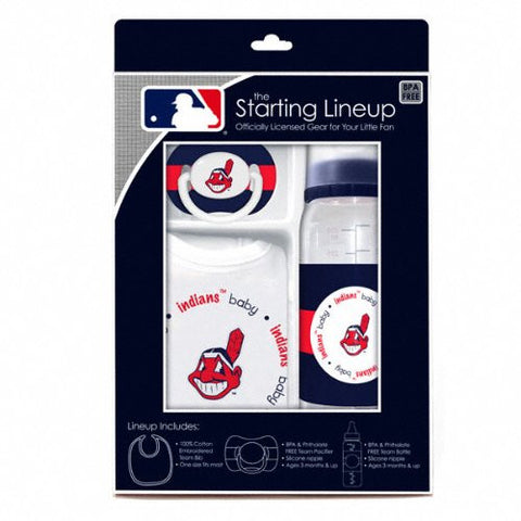 Baby Fanatic Gift Set - Cleveland Indians