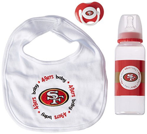 NFL San Francisco 49ers Baby Gift Set (Discontinued by Manufacturer)