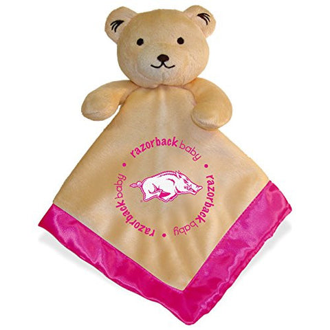 Baby Fanatic Security Bear Blanket, NCAA Arkansas Razorbacks Pink