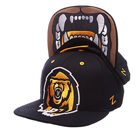 "Cal Berkeley Golden Bears Blue ""Menace"" Adjustable Snapback Cap - NCAA Flat Bill, Men's One Size Baseball Hat"