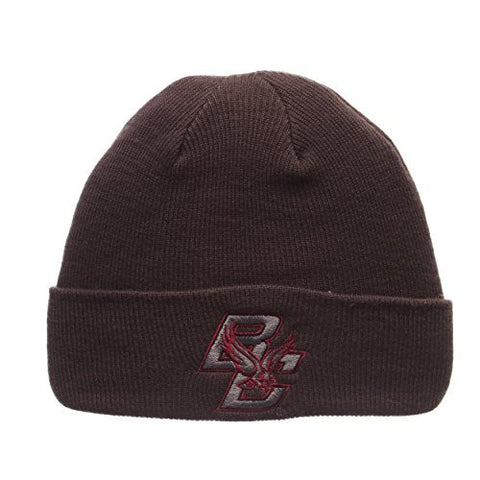 "Boston College Eagles Gray ""X-RAY POP"" Cuff Beanie Hat - NCAA Cuffed Winter Knit Toque Cap"