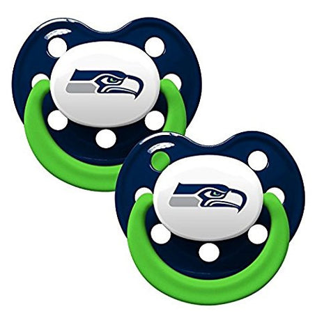 Baby Fanatic NFL Seattle Seahawks Baby Fanatic 2-Pack Pacifiers