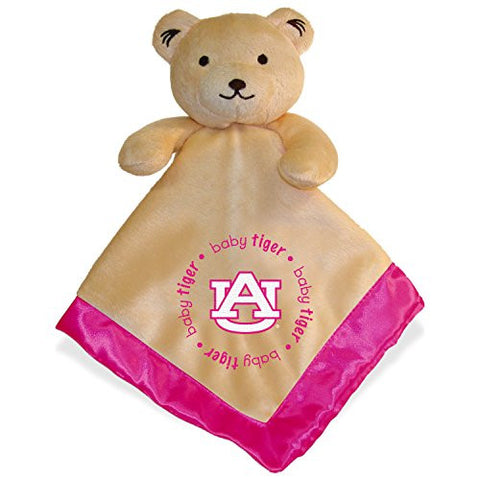 Auburn Tigers Infant Bear Security Blanket Pink