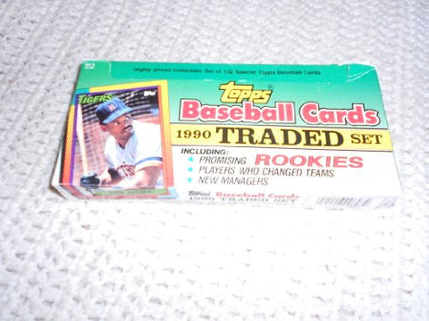 1990 Topps Baseball Traded Retail Factory Set