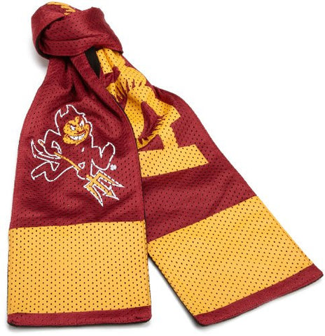 Arizona State University ASU Sun Devils NCAA Pocket Jersey Scarf