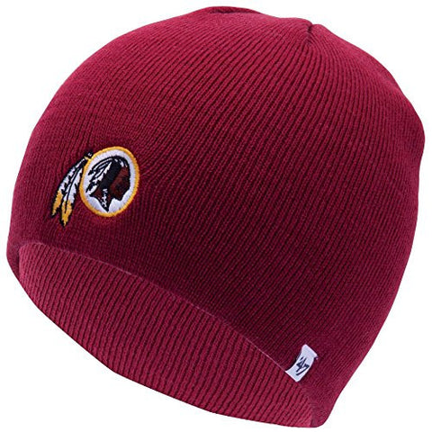 2bae2dbe Washington Redskins Razor Red Skull Cap - NFL Cuffless Winter Knit Toq – Grand  Slam Hats