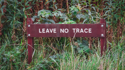 "How to Truly ""Leave No Trace"" While Hiking"