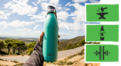 How Greens Steel Stainless Steel Water Bottles Compare to the Other Guys