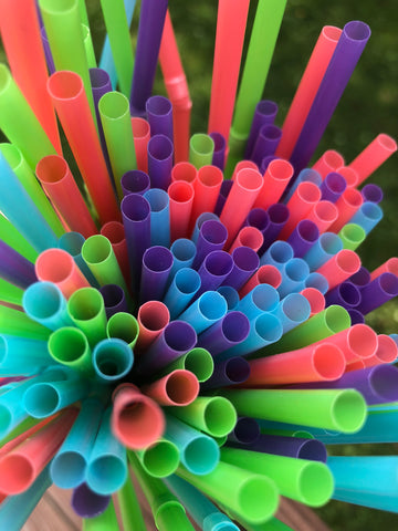 Plastic straws are used for 20 minutes and thrown away - choose stainless steel straws