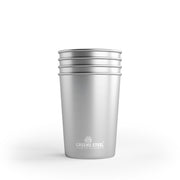 Stainless Steel 10 oz. Kids Cups