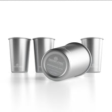 16 oz Stainless Steel Cup (4 Pack)