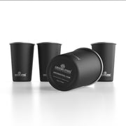16 oz. Stainless Steel Cup (4 Pack) - Black