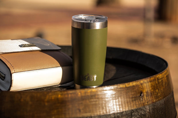 Keep Your drinks cold all summer long - Greens Steel Tumblers - Top Rated