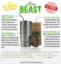 Ultimate 30 oz. Stainless Steel Tumbler Bundle - Greens Steel