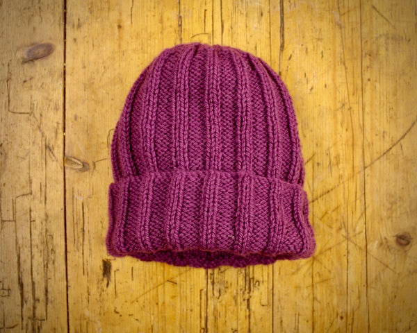 Ribbed Woolly Hat