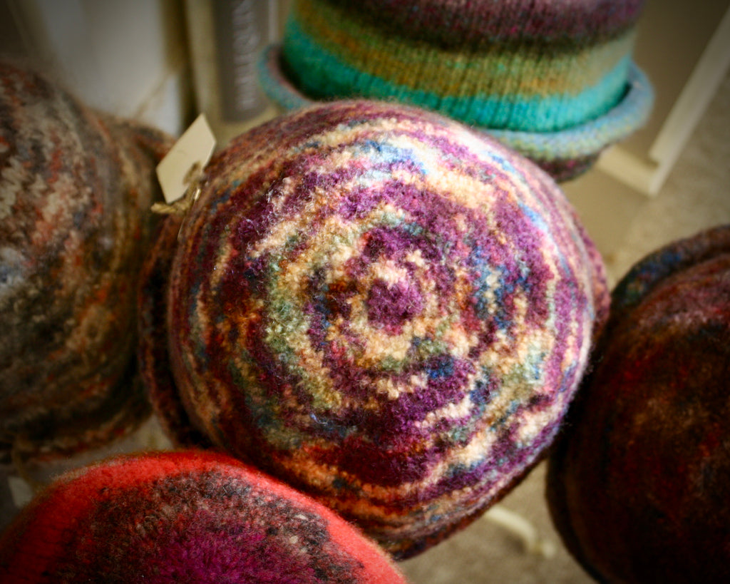 Felted Wool Hats