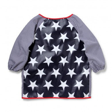 Art Smock: Large - Navy Star