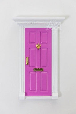 Fairy doors blossom kids for Pink fairy door