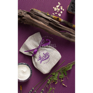 The travel pouch: Bulgarian yoghurt & lavender natural soap with oats-Natural soap-Laska by nature