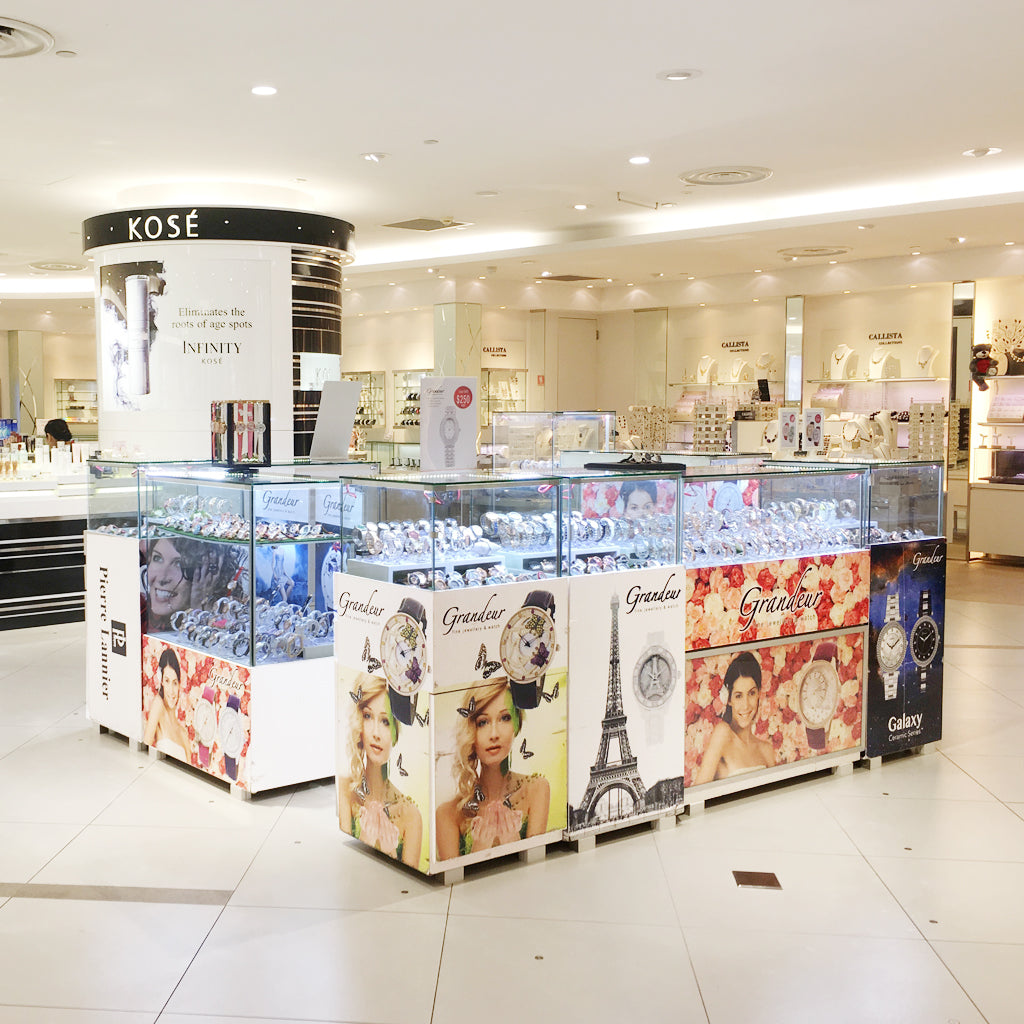 Grandeur Watches promotion at Isetan Serangoon Central