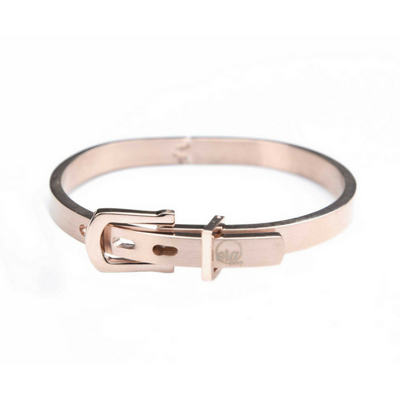 Rose Gold Buckle Bracelet