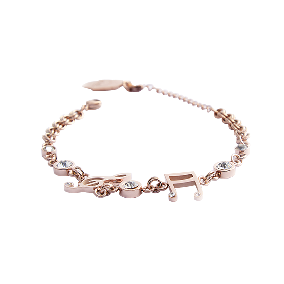 Rose Gold Beat Bracelet