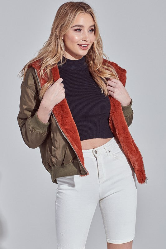 Double the Trouble Bomber Jacket