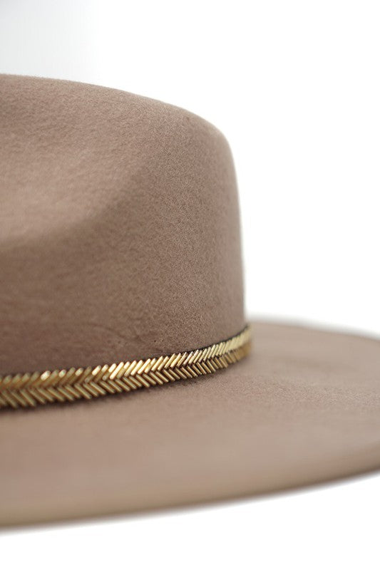 PIP WOOL PANAMA HAT